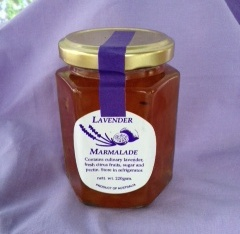 Marmalade with lavender