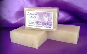 Organic Soap with lavender